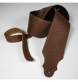 "Franklin Franklin 3"" Purist Glove Leather Guitar Strap Caramel"