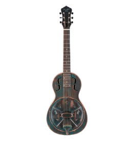 Recording King Recording King Metal Body Parlor Resonator - Vintage Green