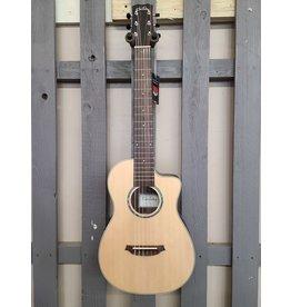 Cordoba Cordoba Mini II EB-CE Travel Guitar - Striped Ebony