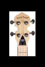 Gold Tone Little Gem Sapphire (Blue) See-Through Banjo Ukulele