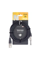 Stagg Stagg N Series Audio Cable, Jack/XLR (m/m), Mono, 3 M (10')