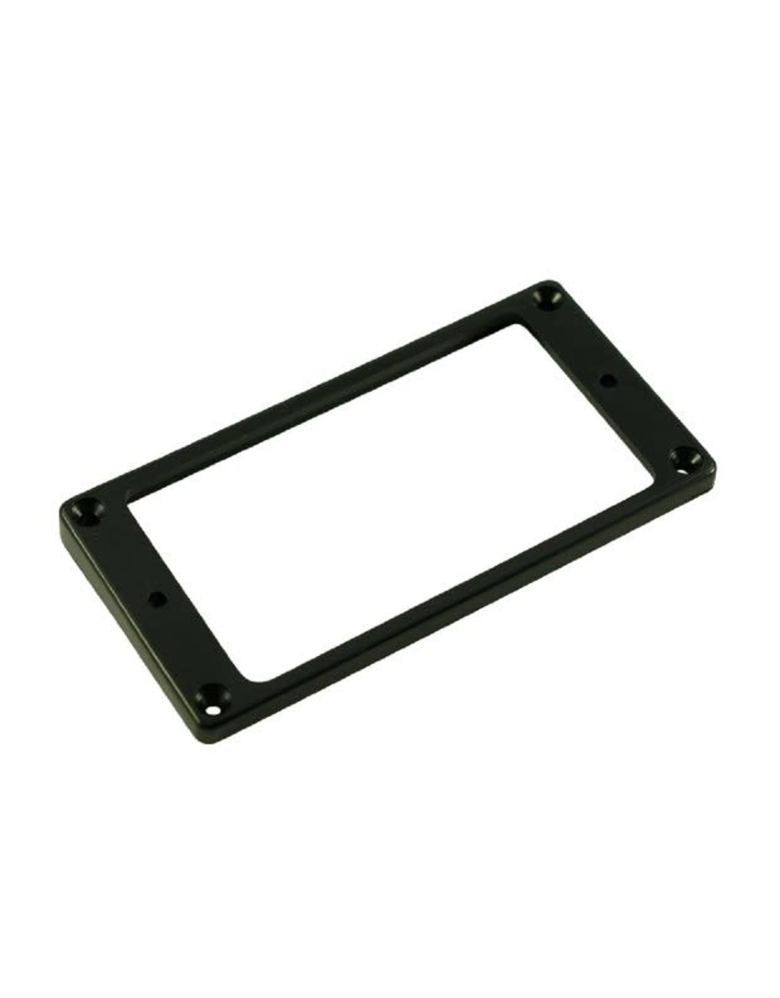 WD Music Products WD Flat Medium Plastic Humbucker Pickup Mounting Ring Black