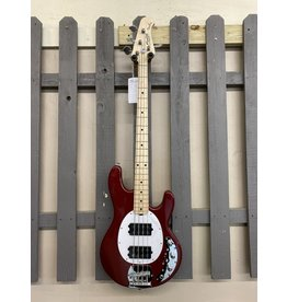 Sterling by Musicman Sterling StingRay Ray4HH Bass Candy Apple Red