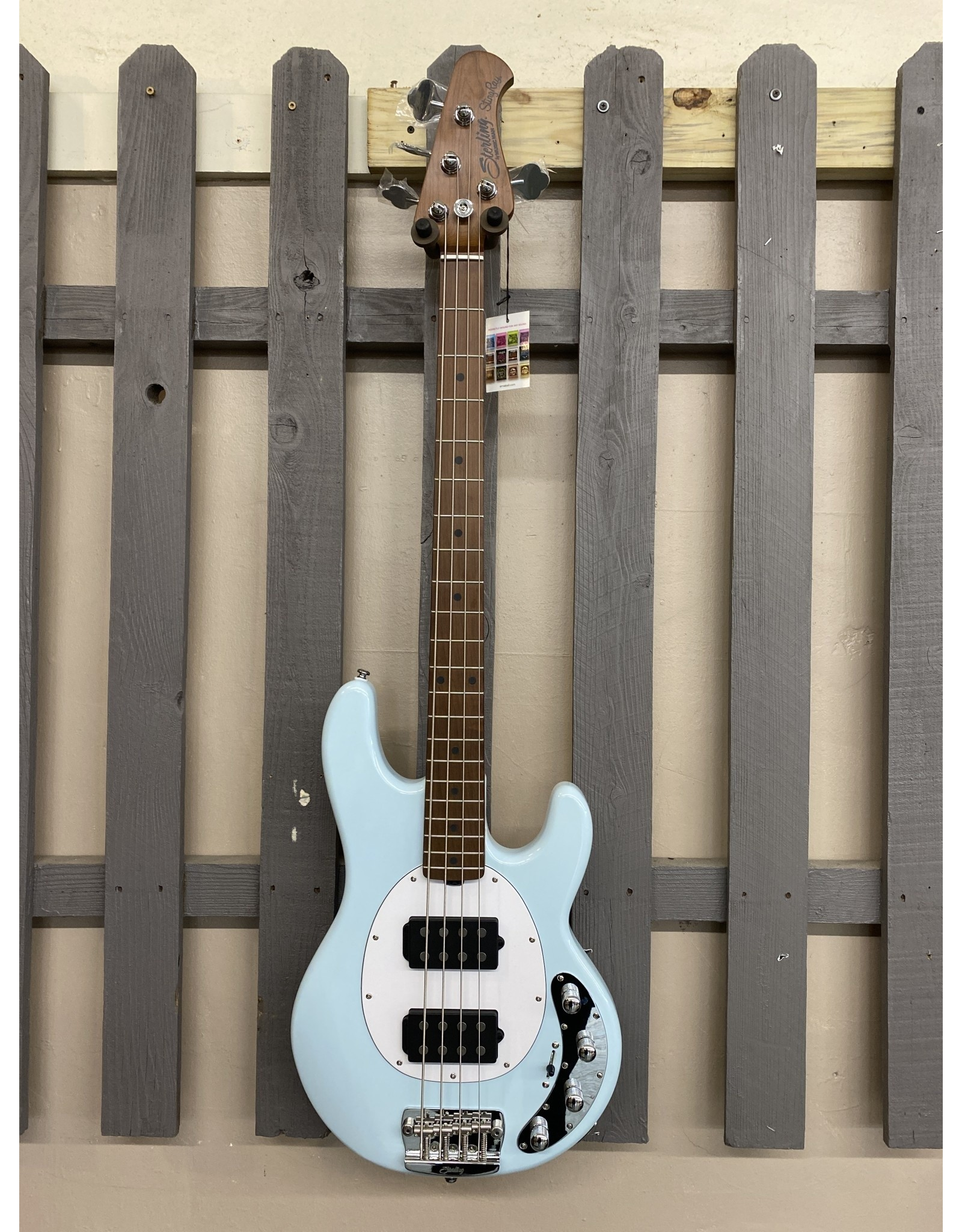 Sterling by Musicman Sterling STINGRAY RAY34HH Bass Daphne blue