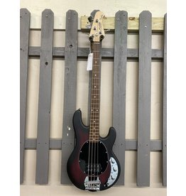 Sterling by Musicman Sterling STINGRAY RAY4 Bass Ruby Red Satin
