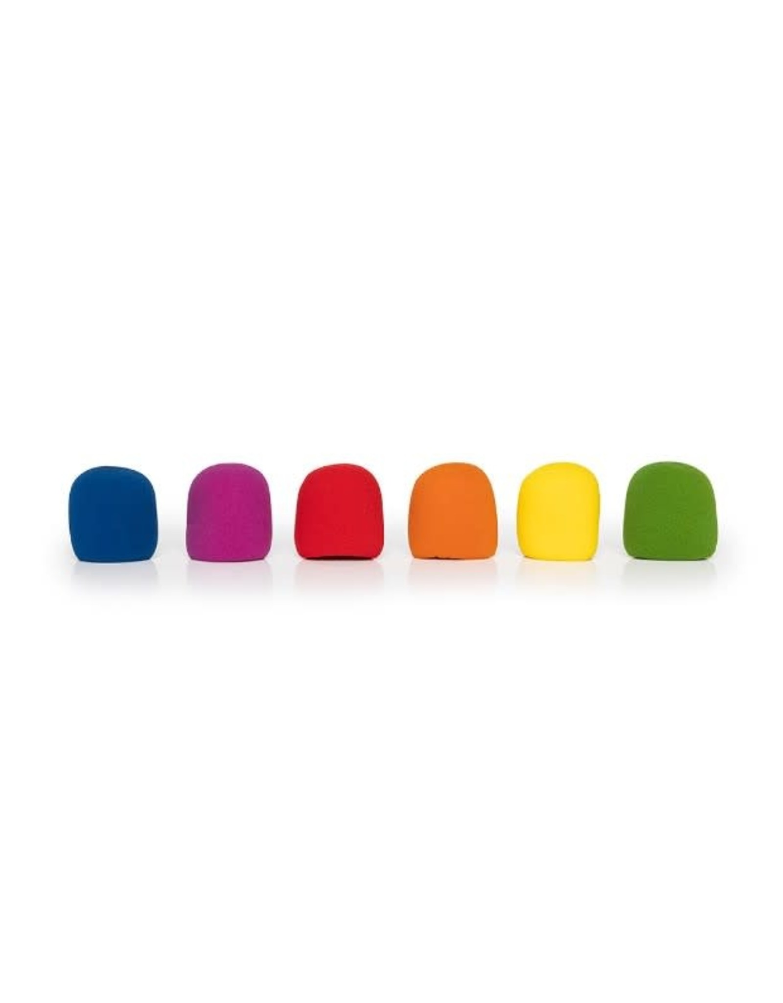 Stagg Stagg Microphone Windscreen (SM58 Type) 6 Pack Colors