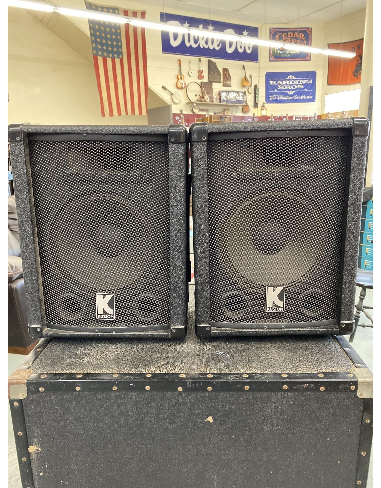 Kustom Kustom KSC10 Speaker Pair (used)