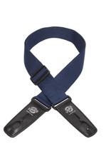 "Lock-It Lock-It 2"" Poly Pro Series Guitar Strap - Navy Blue"
