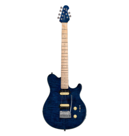 Sterling by Musicman Sterling Axis Flame Maple Electric Neptune Blue