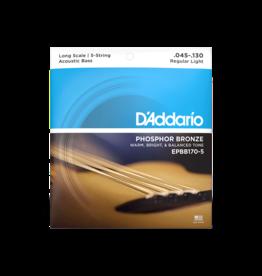 D'Addario D'Addario EPBB170-5 Phosphor Bronze 5 String Acoustic Bass Strings