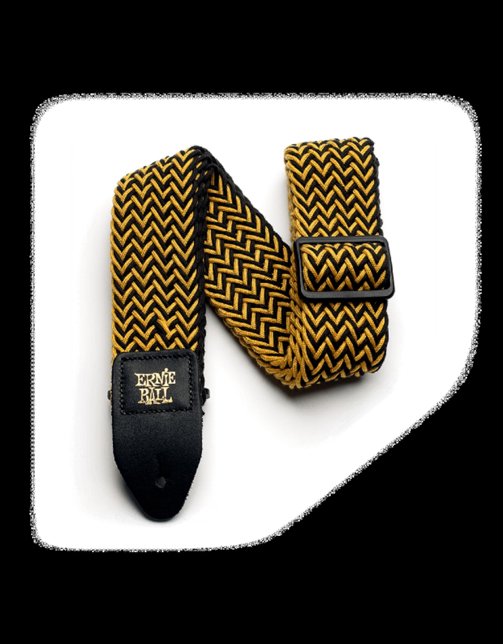 Ernie Ball Ernie Ball 4147 Yellow Jacket Polyspun Strap