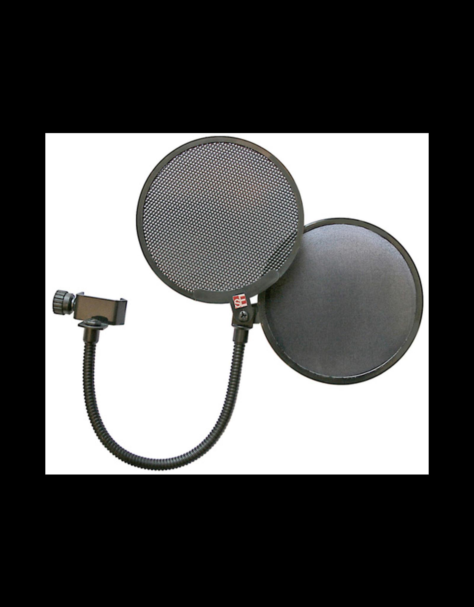 sE Electronics sE Electronics Dual Pop Filter Fabric/Metal