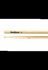 Vater GoodWood 7A Hickory Wood Tip Drumsticks