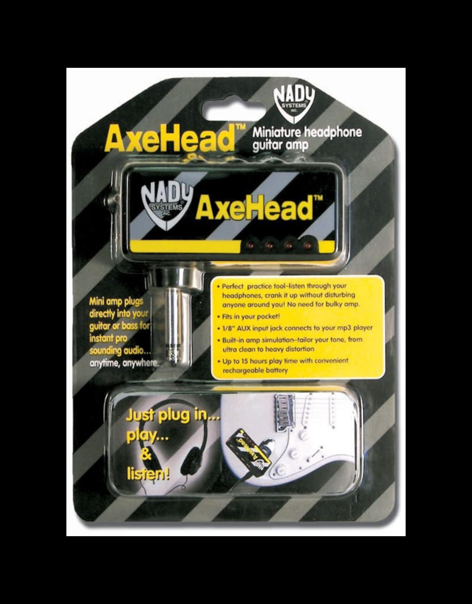 Nady Sysytems Nady AxeHead Miniature Headphone Guitar Amp