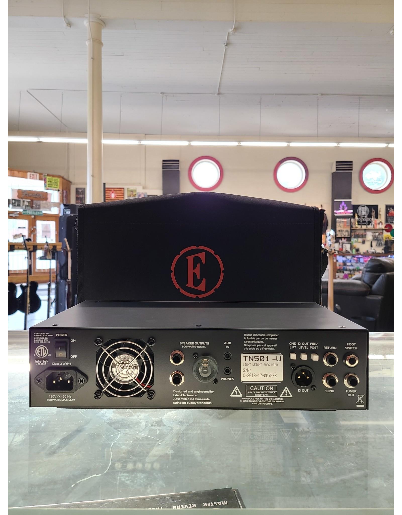 Eden Amplification Eden Amplification TN501 Terra Nova 500-Watt Bass Head (used)