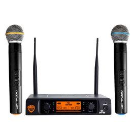 Nady Sysytems Nady DW-22 Dual Transmitter Digital Wireless Microphone System