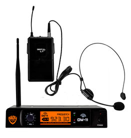 Nady Sysytems Nady DW-11 HM Digital Wireless Headset Microphone System