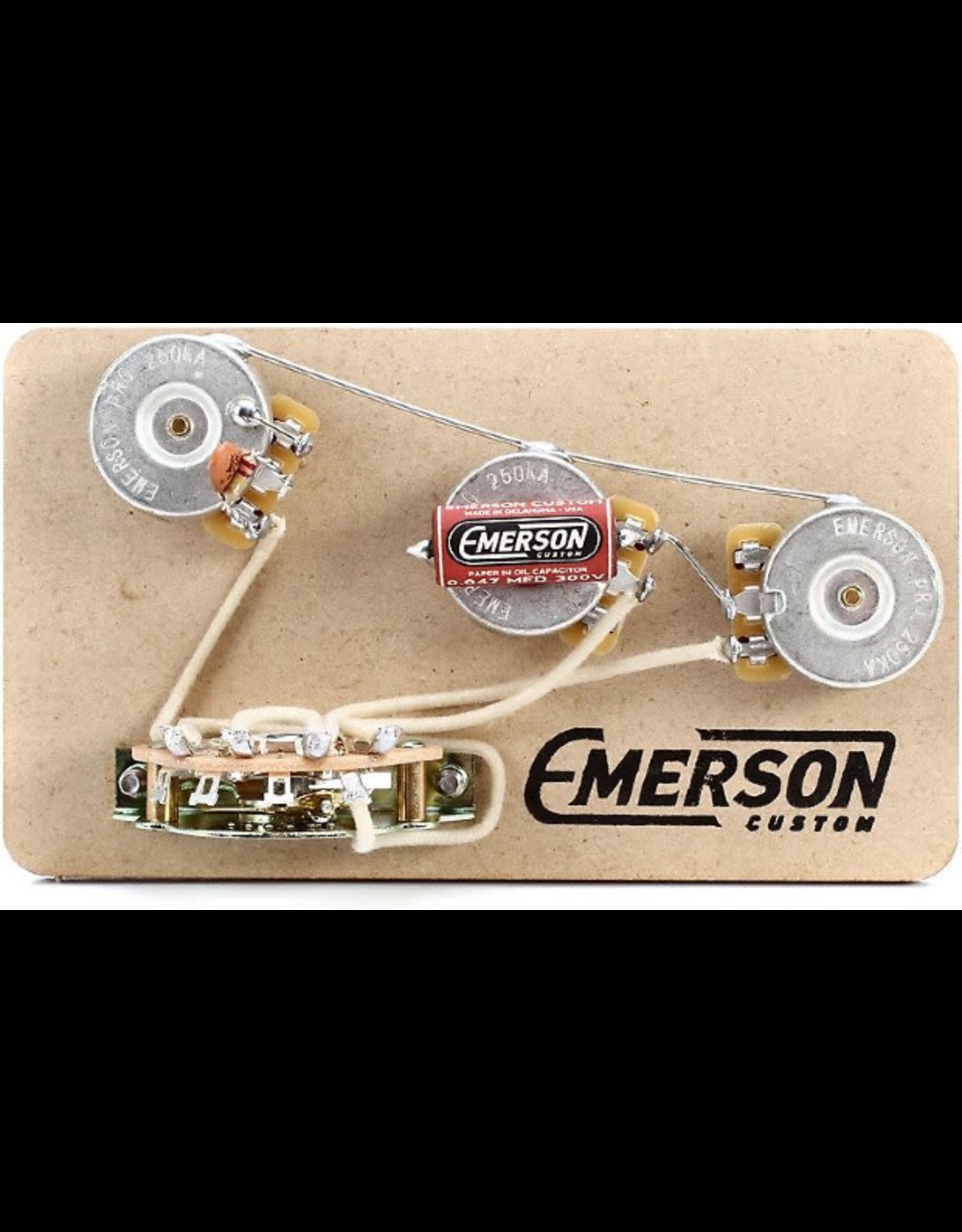 Emerson Emerson Custom 5-Way Strat Prewired Kit S5
