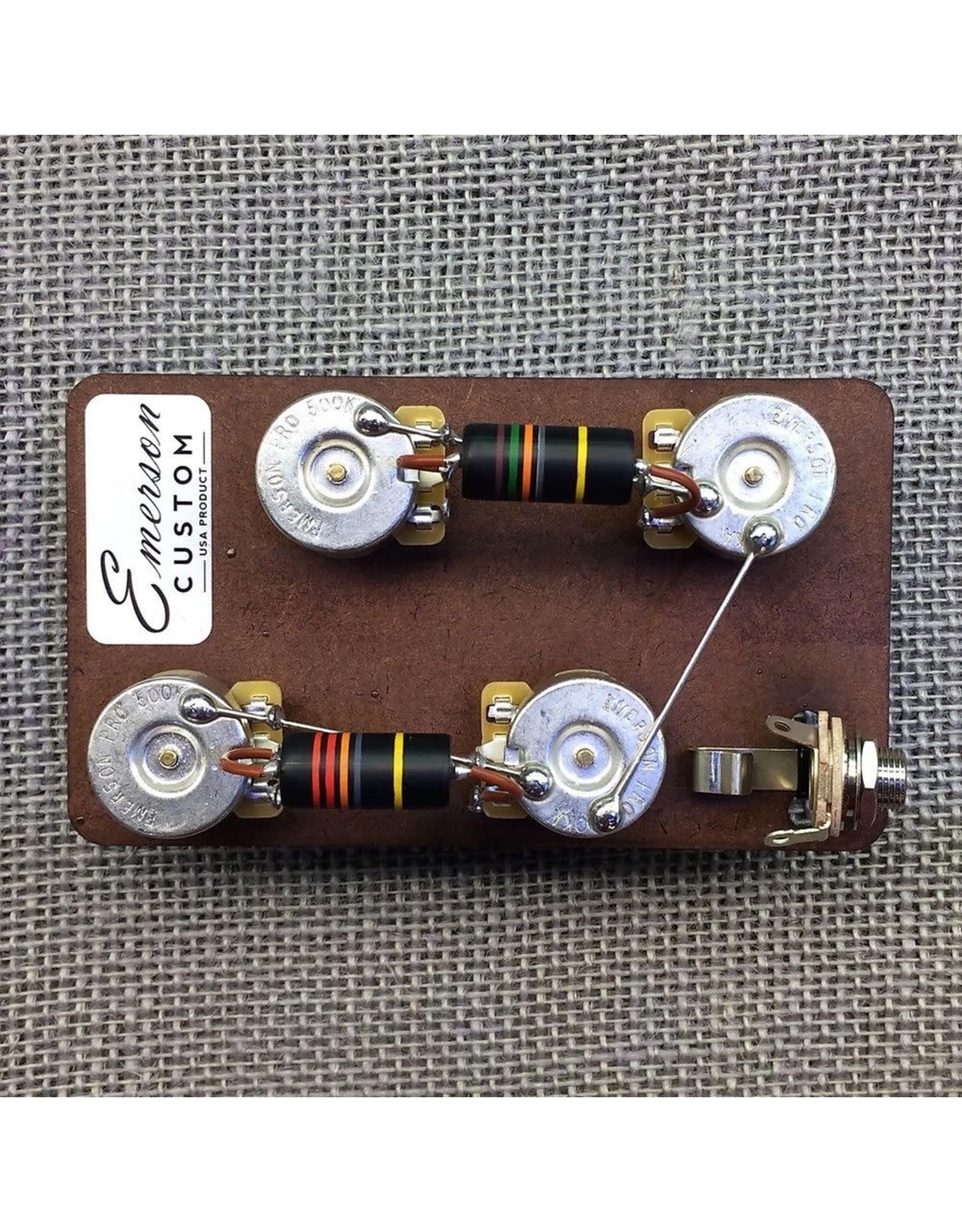 "Emerson Emerson Custom Les Paul Prewired Kit 3/4"" Long Shaft"