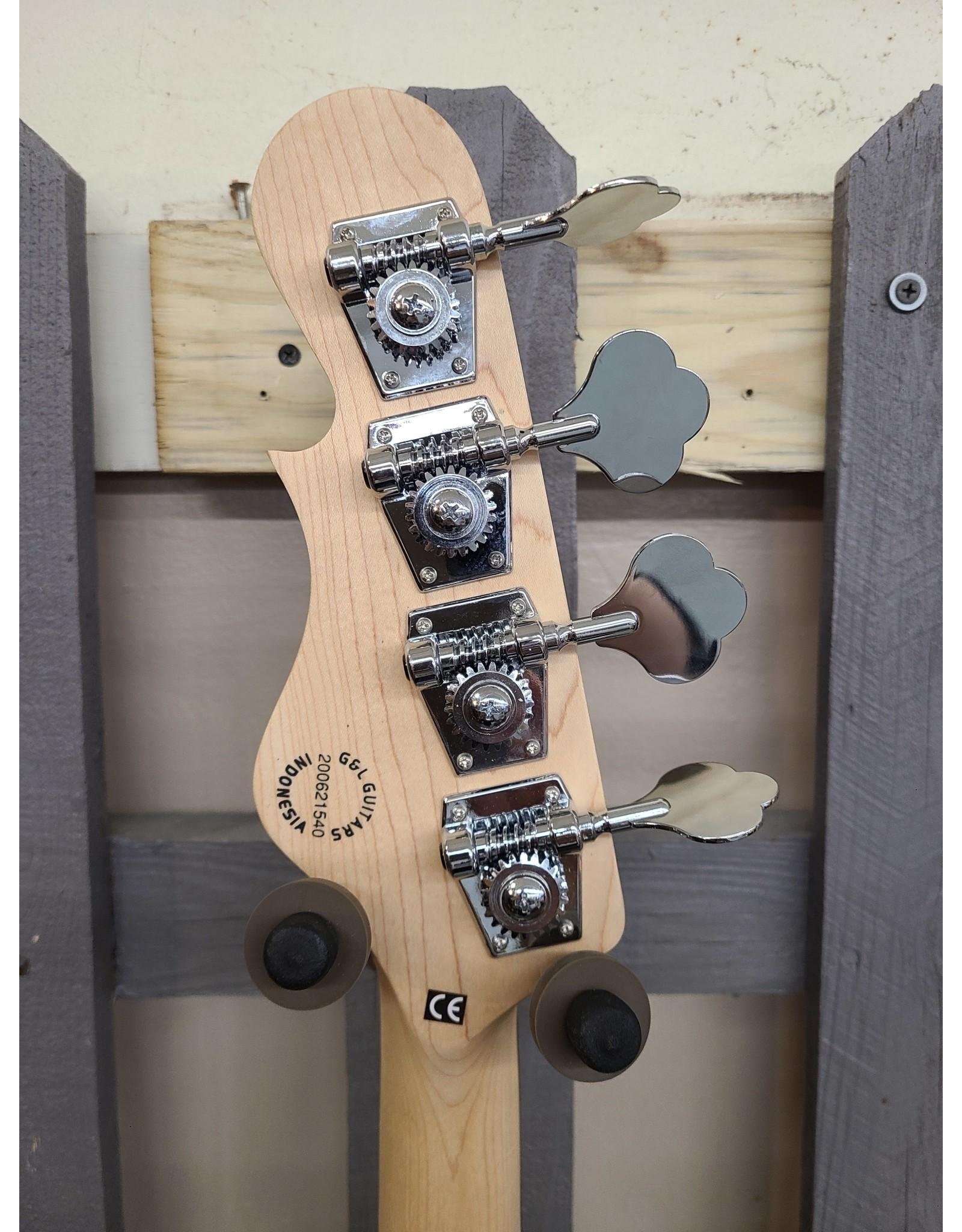 G & L G & L Tribute Series SB2 4-String Black Forest