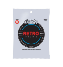 Martin & Co Martin MM12 Retro Light Acoustic Guitar Strings. 12-54