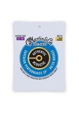 Martin & Co Martin MA175 Authentic Acoustic SP 80/20 Custom Light Guitar Strings. 11-52