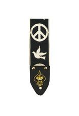 D'Andrea Ace Vintage Reissue Guitar Strap – Peace & Dove