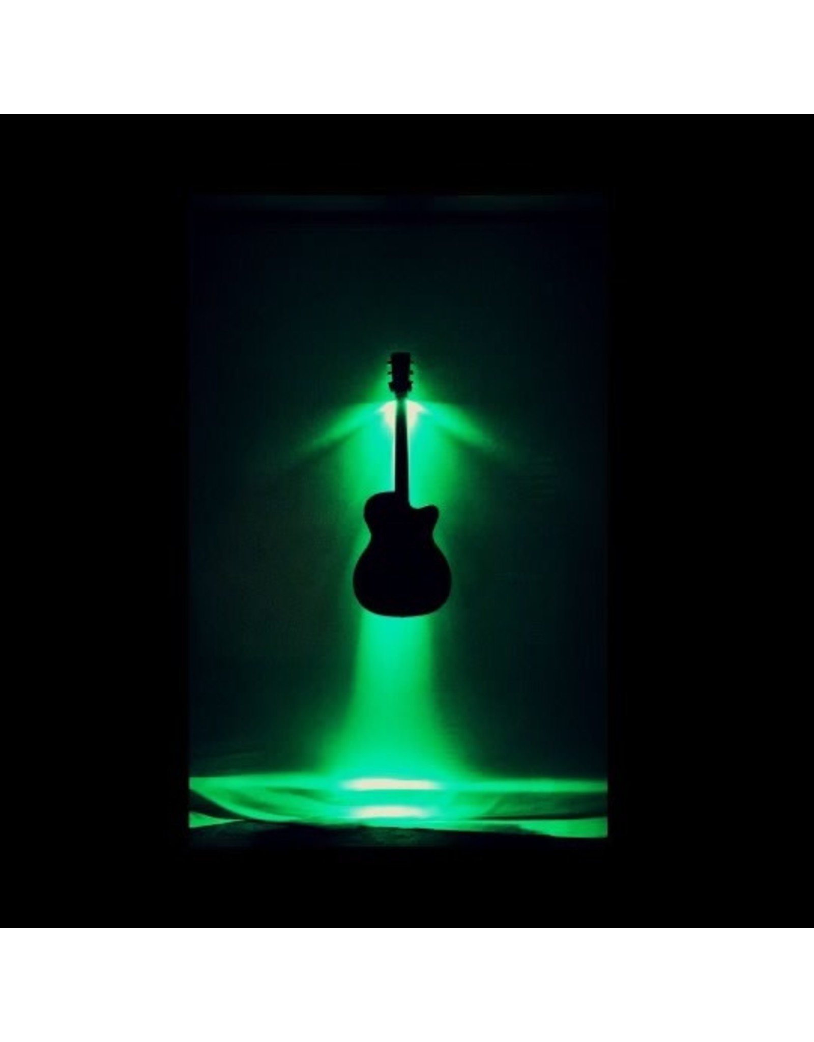 MuzicLight MuzicLight  Gutiar/Bass Wall Hanger Green LED