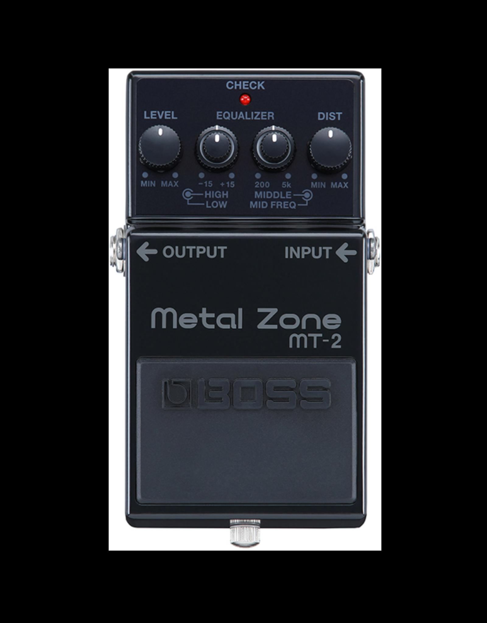 Boss Boss MT-2 Metal Zone 30th Anniversary