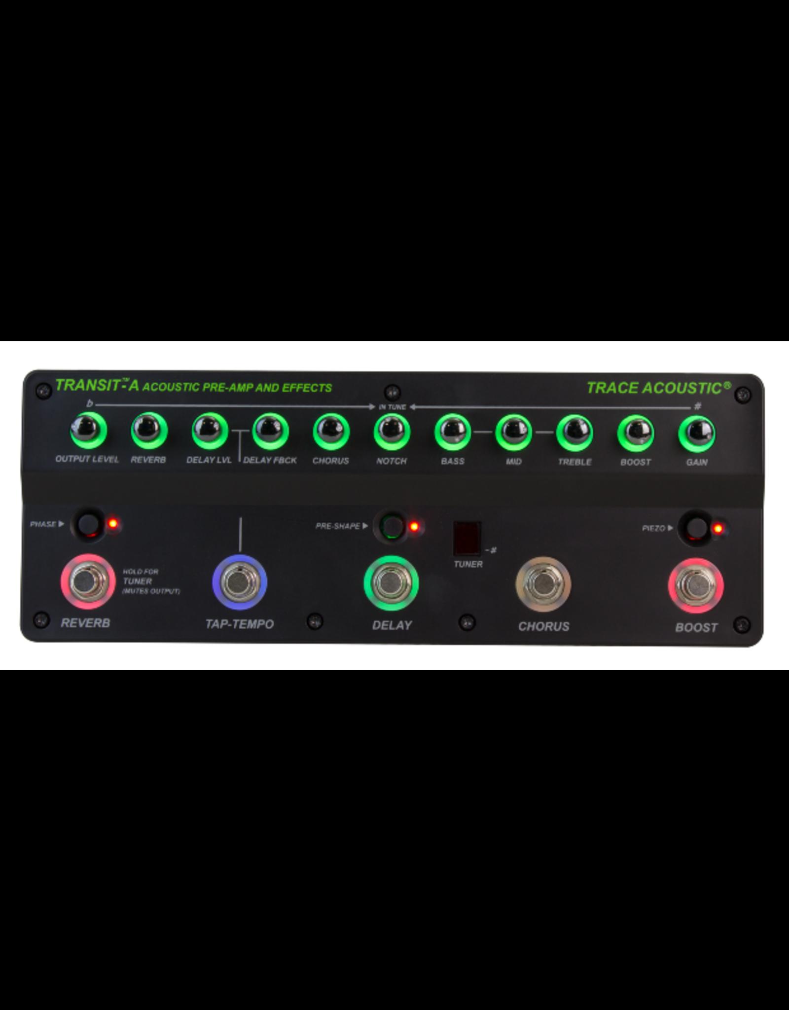 Trace Elliot Trace Elliot® Transit™ A Acoustic Pre-Amp & Effects Pedal