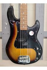 G & L G & L Tribute Series LB100 4-String 3 Tone Sunburst