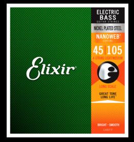 Elixir Elixir 14077 Nickel Plated Steel Bass NANOWEB. Long Scale Medium 50-105