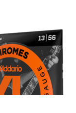 D'Addario D'Addario ECG26 Chromes Flat Wound, Medium, 13-56
