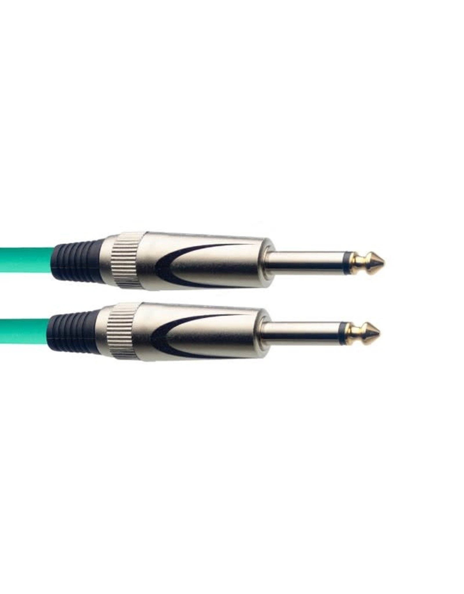 Stagg Stagg S-Series Instrument Cable Green 3M 10 ft
