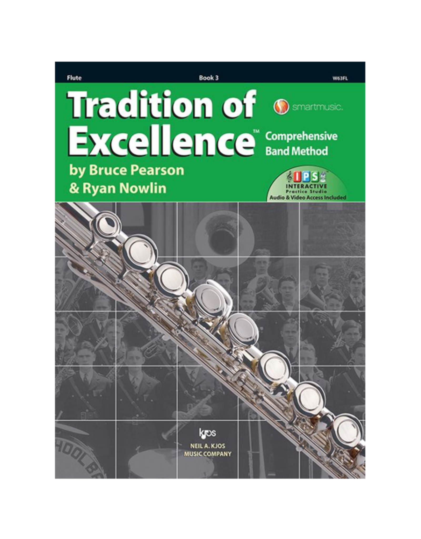 Neil A Kjos Music Company Tradition of Excellence Flute Book 3