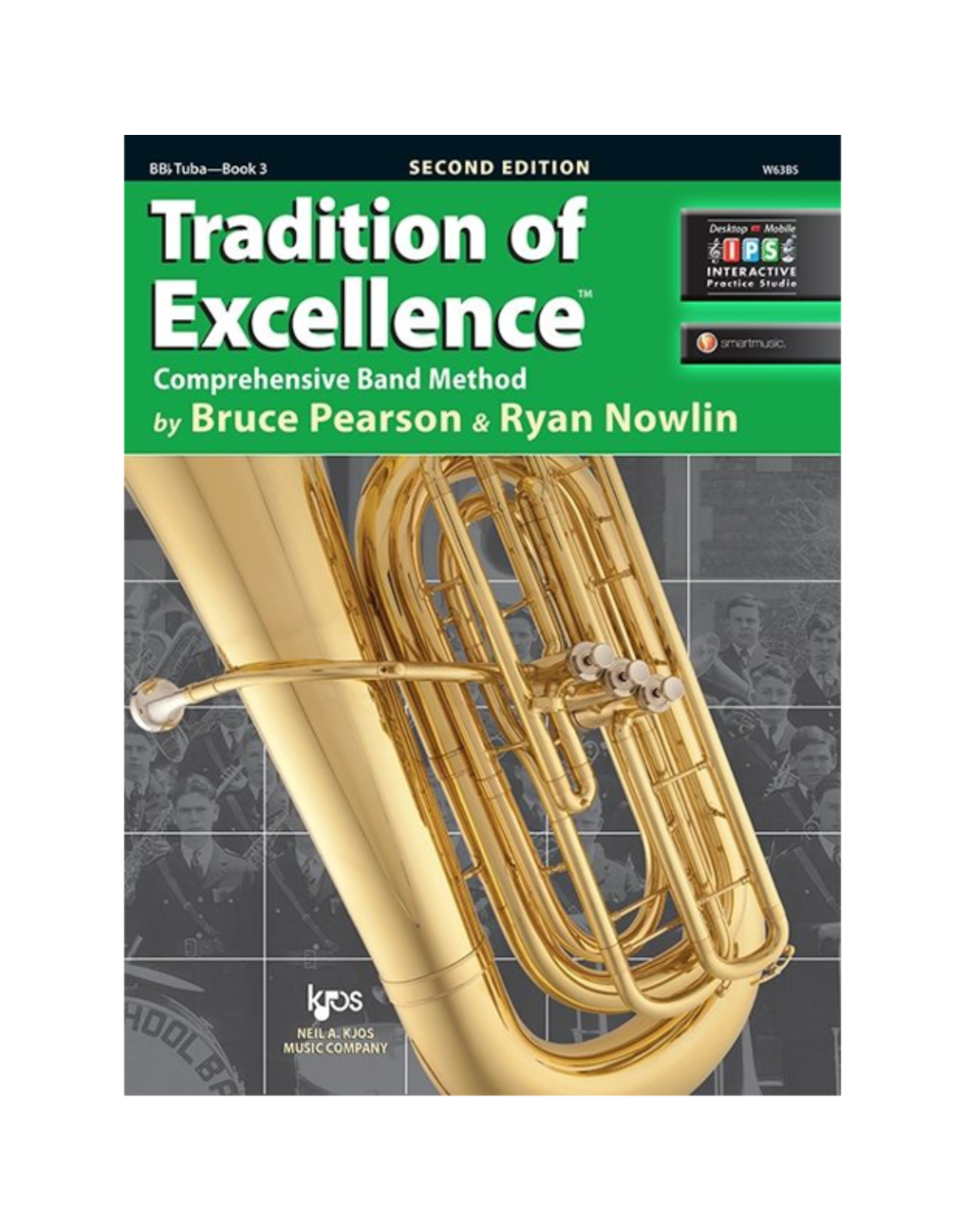 Neil A Kjos Music Company Tradition of Excellence BBb Tuba Book 3