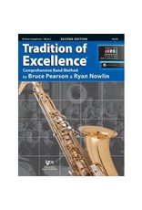 Neil A Kjos Music Company Tradition of Excellence Bb Tenor Saxophone Book 2