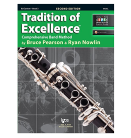 Neil A Kjos Music Company Tradition of Excellence Clarinet Book 3