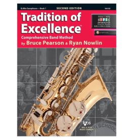 Neil A Kjos Music Company Tradition of Excellence Tenor Saxophone Book 1