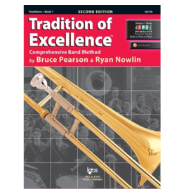 Neil A Kjos Music Company Tradition of Excellence Trombone Book 1