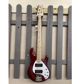 Sterling by Musicman Sterling Stingray RAY5HH Candy Apple Red B-Stock
