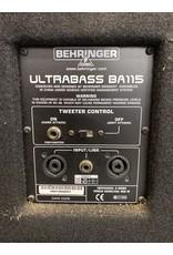 Behringer Behringer Ultrabass BA115 Bass Cabinet (used)