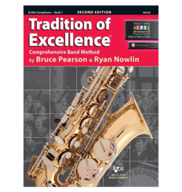 Neil A Kjos Music Company Tradition of Excellence Alto Saxophone Book 1