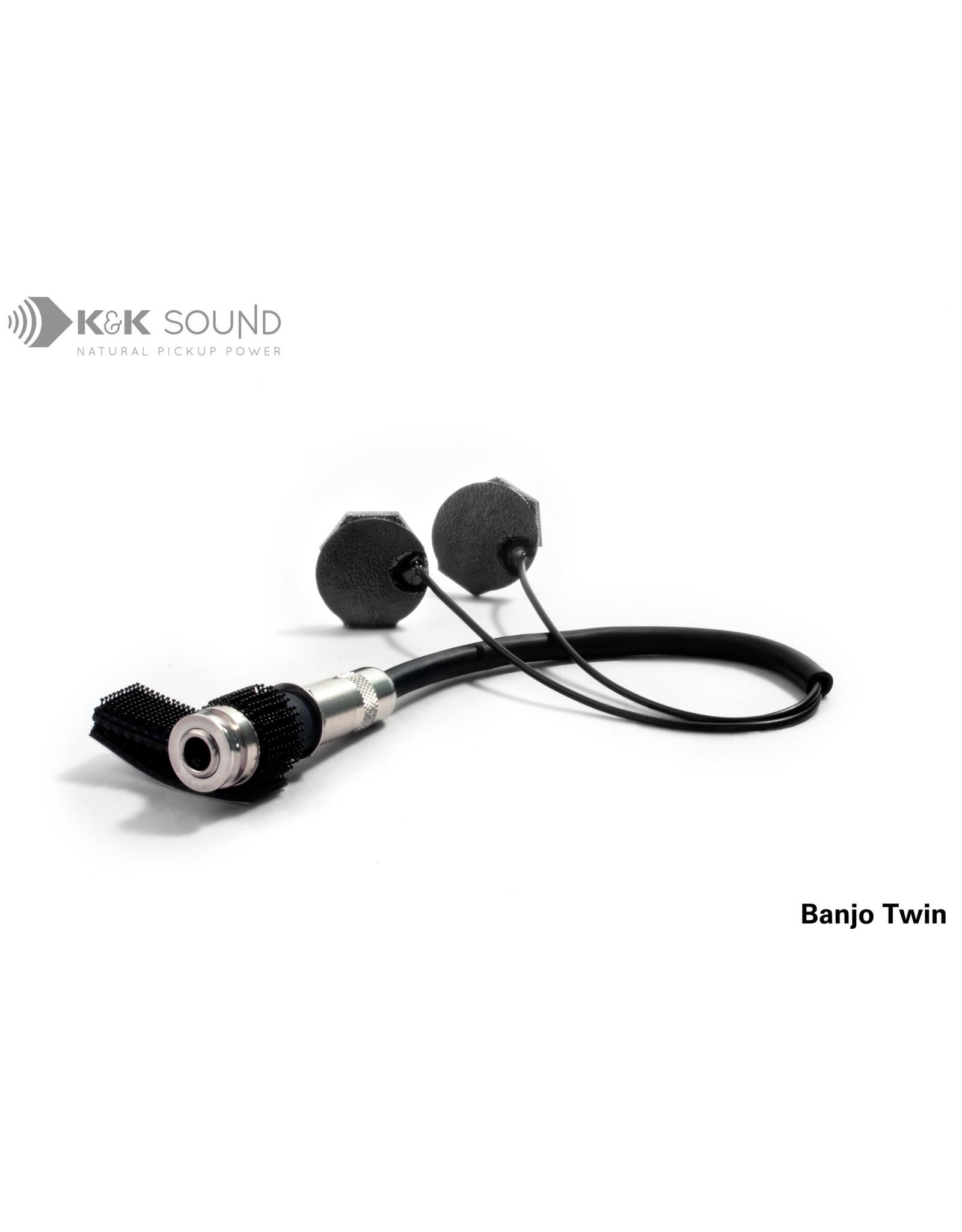 K & K Sound K & K Sound Banjo Twin Pickup