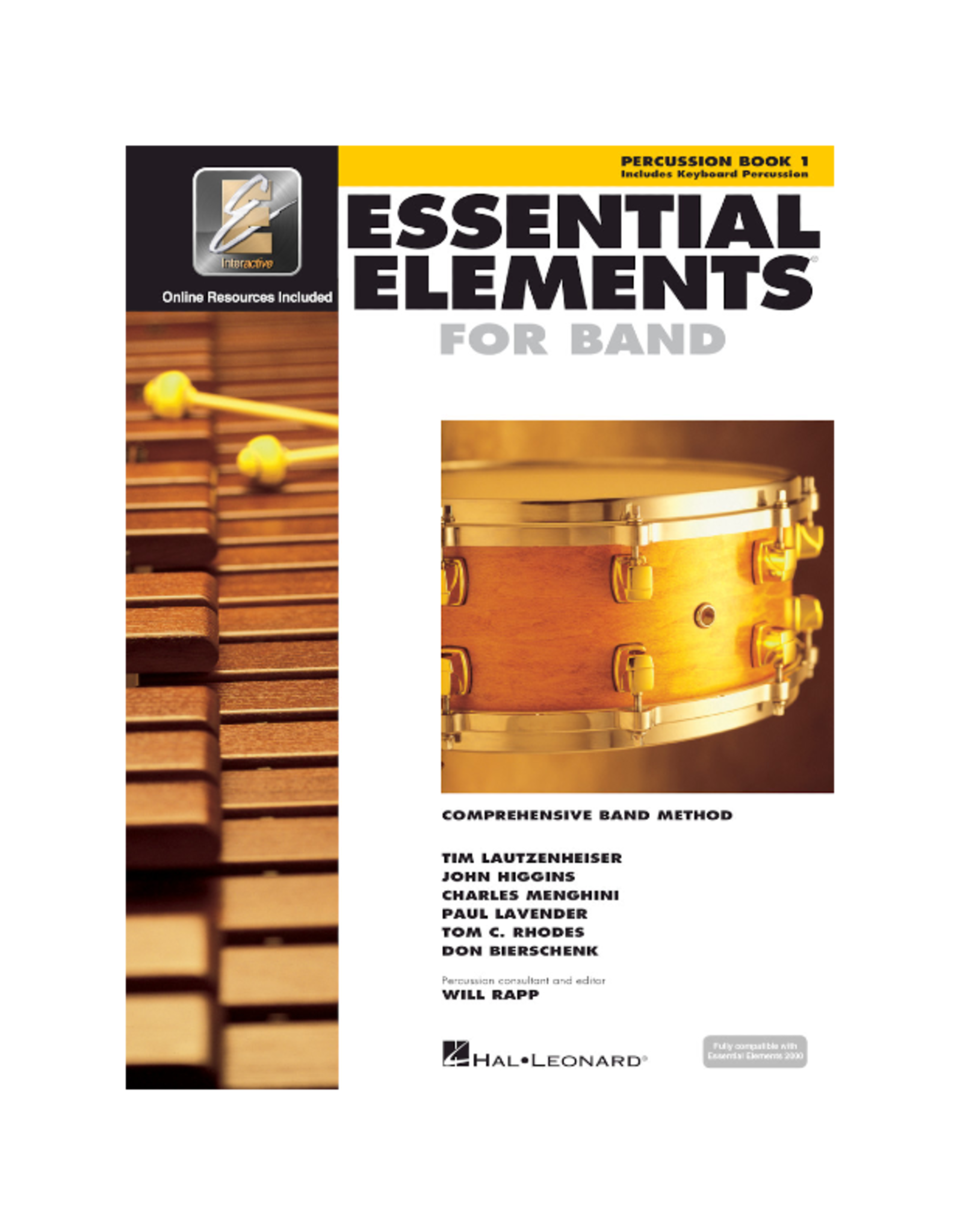Essential Elements Essential Elements for Band – Percussion/Keyboard Percussion Book 1 with EEi
