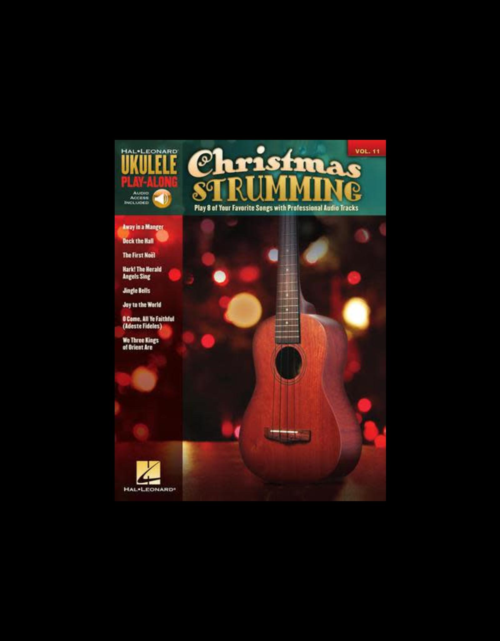 Hal Leonard Christmas Strumming Ukulele Play-Along Volume 11