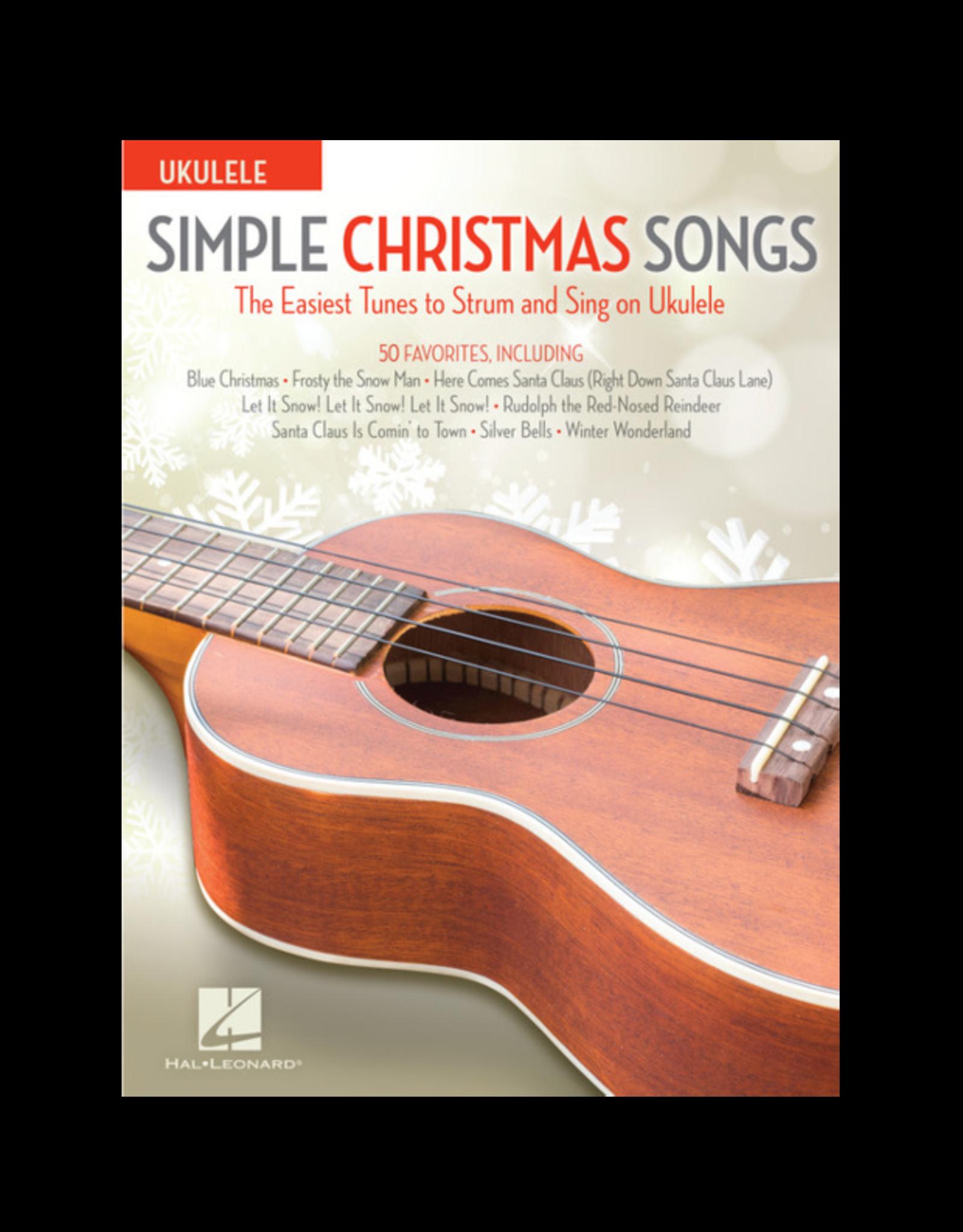 Hal Leonard Simple Ukulele Christmas Songs