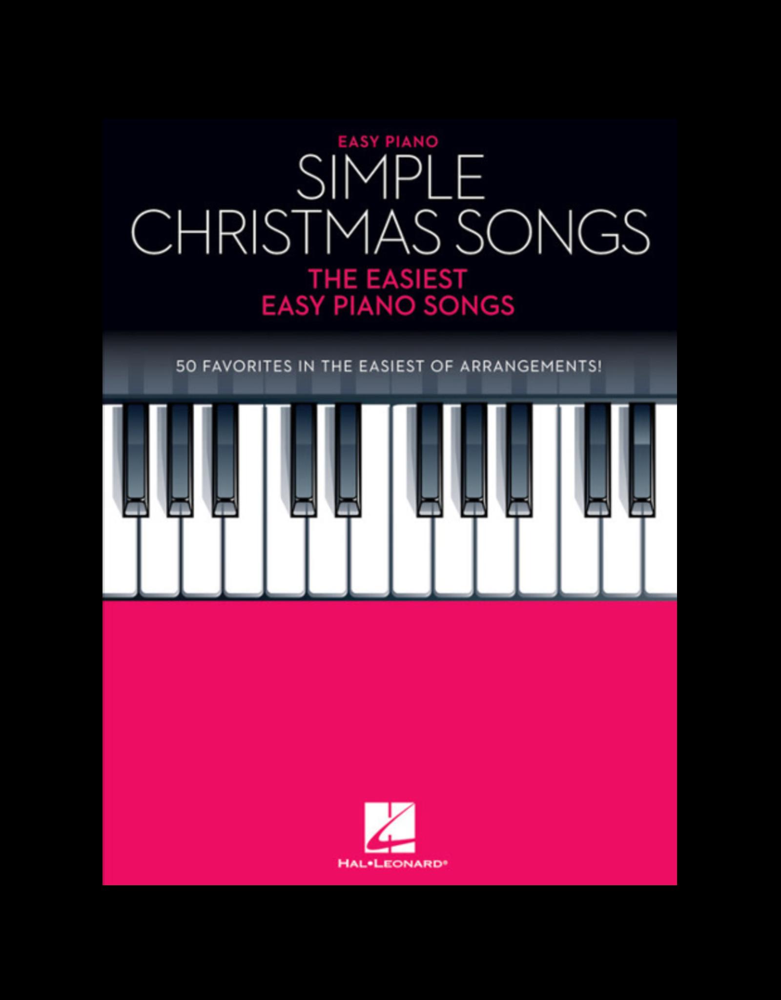 Hal Leonard Simple Christmas Songs Easy Piano