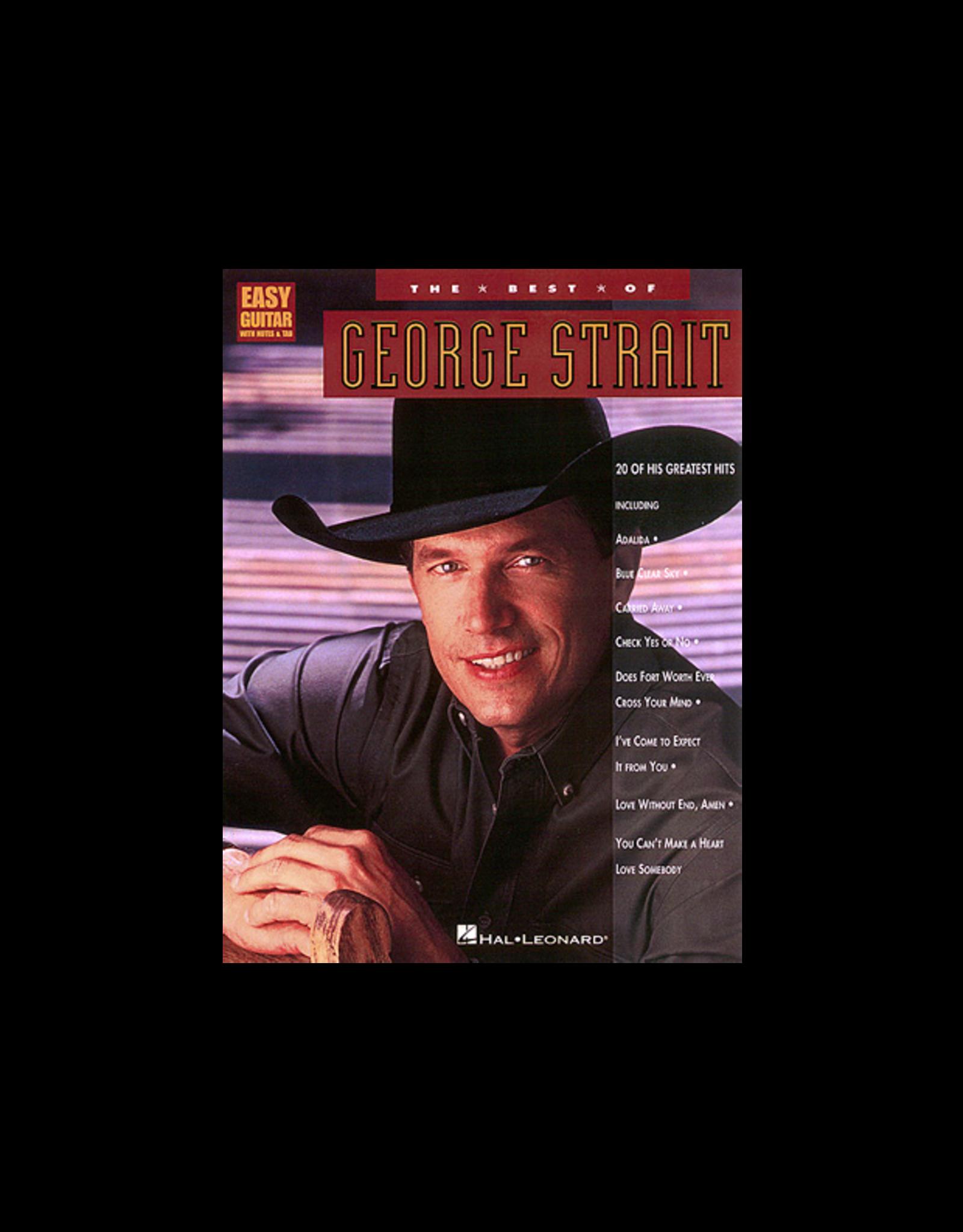 Hal Leonard The Best of George Strait Easy Guitar
