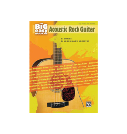 Hal Leonard The Big Easy Book of Acoustic Guitar